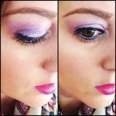 Purple eye makeup. Urban Decay Vice Palette. @Urban Decay