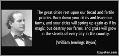 william jennings bryan quotes - Google Search