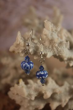 Check out this item in my Etsy shop https://www.etsy.com/listing/214061966/blue-beaded-pierced-earrings-e5
