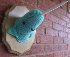 A narwhal for your wall!