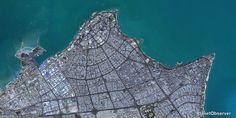 Kuwait City – PlanetSAT 15 L8 satellite image