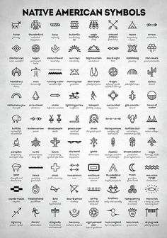 Native American Signs by Zapista Zapista . - Native American Signs by Zapista Zapista indians, symbols, in - Native American Tattoos, Native American Symbols, Native American Indians, Cherokee Indian Tattoos, Cherokee Symbols, Native American Design, Native Tattoos, Native American Thunderbird, Native American Drawing