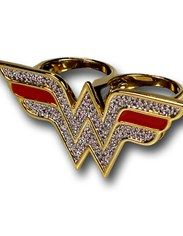 Wonder Woman Double Ring - Must Have!!!