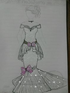 #fashiondesign #gowndesign #draws #pencil #design