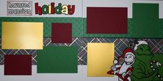 "12""x12"" layout kit:  Haunted Mansion Holiday"