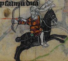 Detail from medieval manuscript, British Library Stowe MS 17 'The Maastricht Hours', f213r