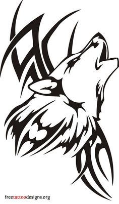 60 Awesome wolf tattoos + more about the meaning of wolves. Designs include tribal and howling wolves, wolf head and paw tattoos. Wolf Tattoos, Tribal Wolf Tattoo, Wolf Tattoo Design, Tribal Tattoo Designs, Tribal Tattoos, Polynesian Tattoos, Wolf Design, Geometric Tattoos, Fish Tattoos
