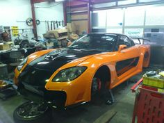 """FD3S RX7 made by VeilSide.     This car used at movie """"Fast & Furious 3 Tokyo Drift"""" ."""