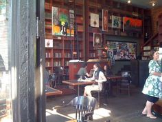 Bauhaus Books & Coffee. I can't think of a better representation of that which is quintessentially Seattle; towering shelves of books, patrons of personality and baristas that wield coffee-brewing skills as good as the coffee itself...which is really, really good.