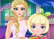 Elsa Modern Mommy | kazhy juegos de chicas online - Equestria Girls - Monster High