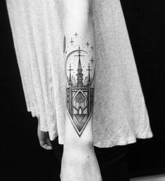 Phenomenal Blackwork Tattoos by Thomas Eckeard