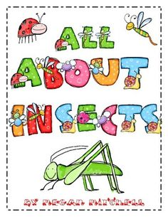This packet includes activities to learn all about insects. Included you will find:* 8 page mini book about insects* Anitcipation Guide for