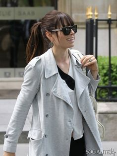 Jessica Biel spotted shopping!