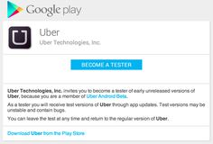 5/2014 uber beta for android