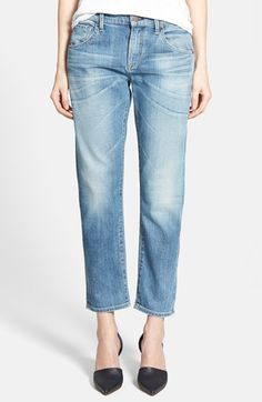 $188, Citizens of Humanity Emerson Slim Boyfriend Jeans. Sold by Nordstrom. Click for more info: https://lookastic.com/women/shop_items/156321/redirect