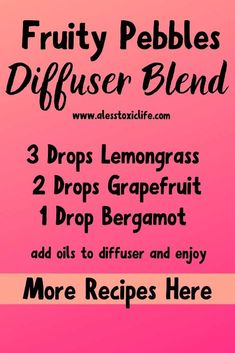 Yummy, This blend smells like fruity pebbles. It might not be the healthiest cereal but it sure smells good. Maybe a little comfort food if I am honest. :) Try this diffuser blend and others that smell sweet like candy. Best Smelling Essential Oils, Essential Oils For Migraines, Essential Oil Perfume, Best Essential Oils, Essential Oil Diffuser Blends, Diffuser Recipes, Young Living, Doterra, Nyx Matte