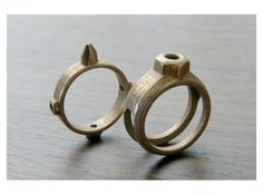 3d printed ring. Shapeways.com