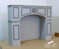 les 9 meilleures images du tableau chemin e en carton sur pinterest chemin e en carton. Black Bedroom Furniture Sets. Home Design Ideas