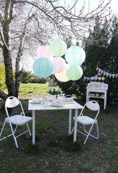 Kids' Pastel Easter Bunny Themed Brunch via Kara's Party Ideas