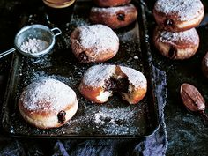 Cheesecake Donuts with Nutella Recipe
