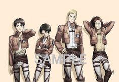 Those Four(●♡ᴗ♡●)