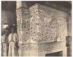 Петриківський розпис - окраса української хати. Раритетні світлини орієнтовно 1920-х років