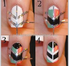 Have a look at some DIY nail art, DIY nail designs and DIY nail art ideas that you may consider taking into account. Take a look at the diy nail art step by step and if you love to experiment with your nails, you can try these nail art. Cute Nail Art, Nail Art Diy, Diy Nails, Diy Art, Nail Art Hacks, Easy Nail Art, Love Nails, Pretty Nails, Nails Decoradas