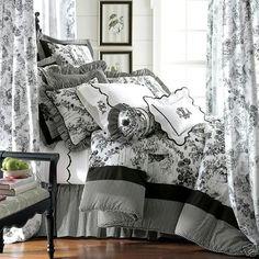 12 Outstanding Black Toile Bedding Snapshot Idea