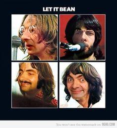 The Beatles versus Mr. Bean