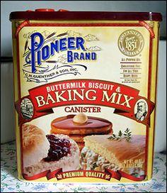 Pioneer Brand Baking Mix (RECIPES)!