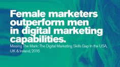 In a remarkable number of case studies, female marketers seem to outperform their male counterparts. Stem Science, Prime Time, Women In History, Case Study, Read More, Evolution, Things To Think About, Digital Marketing, Inspirational Quotes