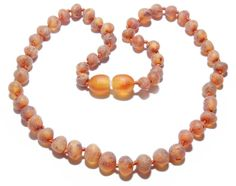 Genuine Raw Baltic Amber Teething Necklace for Baby by BLTAmber