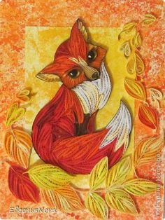quilling fox - Google Search