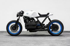 Munich-based lawyer and photographer Philipp Wulk has created two custom variations of the BMW K100 motorcycle, a bike known for its bulk.