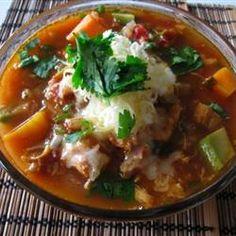 Southwestern Turkey Soup   A healthy meal using leftover turkey.
