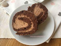 Pařížská roláda Cheesecake, Muffin, Rolls, Food And Drink, Cupcakes, Breakfast, Roll Cakes, Pizza, Blog