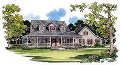 House Plan 95075 | Country Plan with 2090 Sq. Ft., 3 Bedrooms, 3 Bathrooms, 2 Car Garage at family home plans