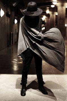 The proper way to flourish a cape.