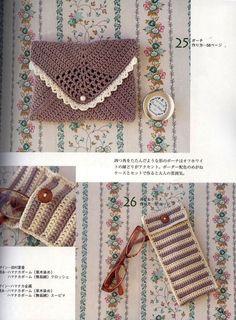 DIY : Pochettes au crochet
