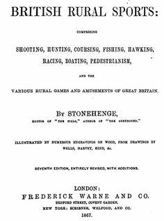 1867   Manual of British Rural Sports.                          By John Henry Walsh.    Via   Google Books     (PD-100)        suzilove.com