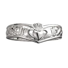 My perfect Claddagh ring. I want this to be from the man I'll marry. But not as an engagement ring. As a declaration of love.