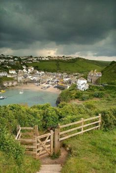 Port Isaac in North Cornwall, England, UK. Always wanted to go here when I lived in England. Cornwall England, North Cornwall, Yorkshire England, Yorkshire Dales, North Wales, Devonshire England, Places To Travel, Places To See, Port Isaac