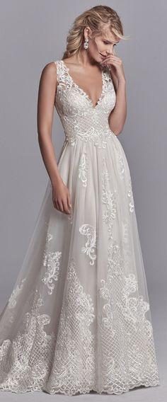 75d8c2fcc3f0 92 Best Maggie Sottero Wedding Dresses images | Bridal gowns, Alon ...