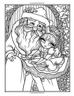 A Whimsy Girls Christmas Coloring Book: Festive Girls, Fairies, & Blank Coloring Pages, Abstract Coloring Pages, Free Adult Coloring Pages, Coloring Pages For Girls, Flower Coloring Pages, Mandala Coloring Pages, Animal Coloring Pages, Coloring Books, Coloring Sheets