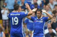 @Chelsea #Costa and #Hazard #9ine