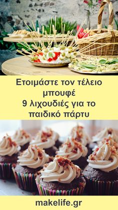 The Kitchen Food Network, Dessert Recipes, Desserts, Greek Recipes, Food Network Recipes, Finger Foods, Party Time, Buffet, Recipies