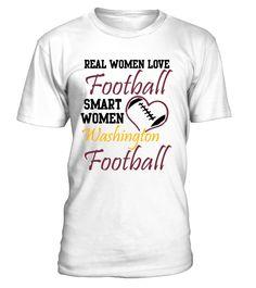 Real Women Love Washington | Washington Redskins T-Shirt & Hoodie.