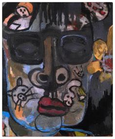 self acrylic on canvas Gregory McLaughlin inquiries  whateverway@comcast.net $800.00