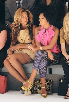 Bey and Solange