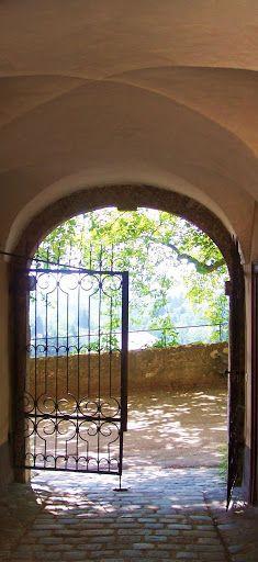 Gates in Salzburg, Austria.
